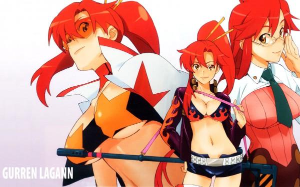 Tags: Anime, Tengen Toppa Gurren-Lagann, Yoko Littner, Yomako, 1680x1050 Wallpaper, Wallpaper