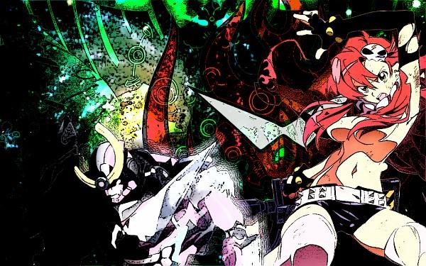 Tags: Anime, Tengen Toppa Gurren-Lagann, Yoko Littner, Wallpaper