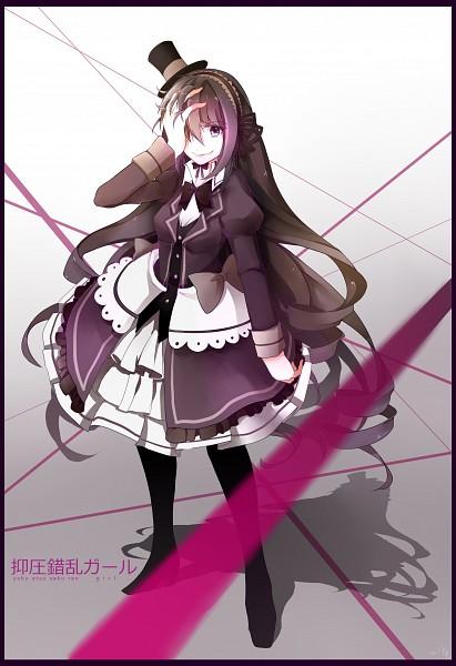 Tags: Anime, Pixiv Id 4220066, VOCALOID, Yokuatsu Sakuran Girl, Mobile Wallpaper, Jigokugata Ningen Doubutsuen