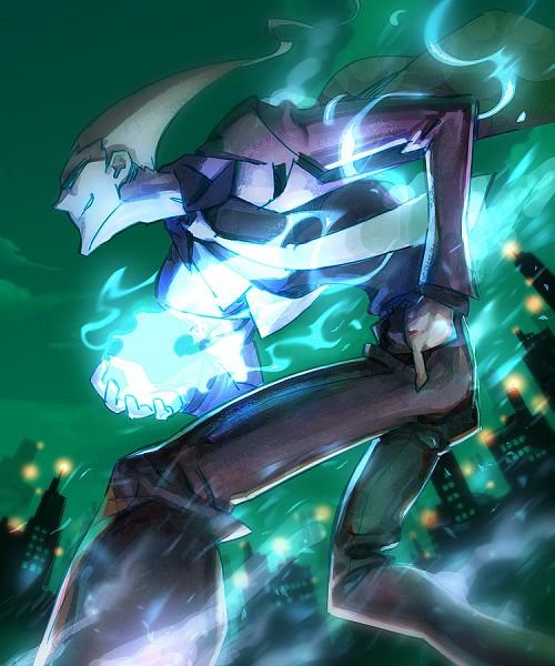Tags: Anime, Ghost Trick: Phantom Detective, Yomiel