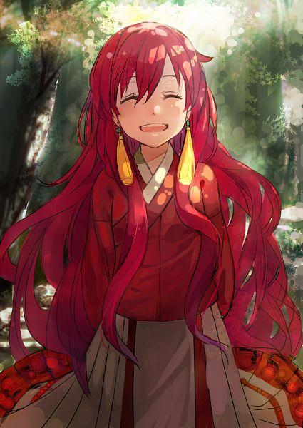 Tags: Anime, Object Spring, Akatsuki no Yona, Yona (Akatsuki no Yona), PNG Conversion, Mobile Wallpaper