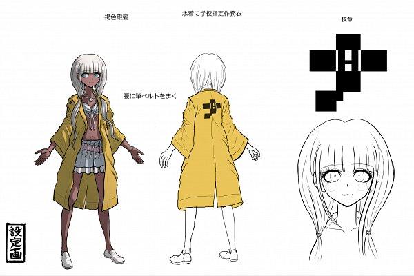Tags: Anime, Komatsuzaki Rui, New Danganronpa V3, Yonaga Angie, Official Art