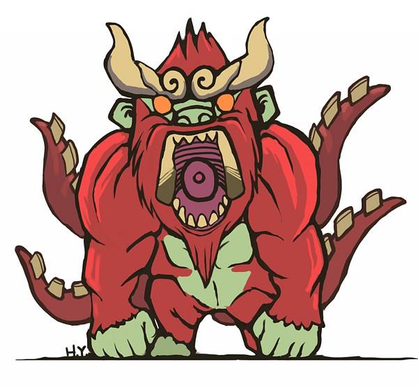Yonbi (Four-tailed Monkey) - NARUTO