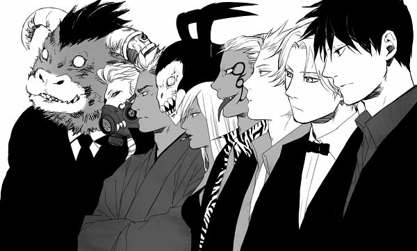 Tags: Anime, Pixiv Id 1847102, Yondemasuyo Azazel-san, Akutabe, Salamander (Yondemasuyo Azazel-san), Eurinome (Yondemasuyo Azazel-san), Undine (Yondemasuyo Azazel-san), Moloch, Azazel, Lucifer (Yondemasuyo Azazel-san), Beelzebub (Yondemasuyo Azazel-san), Gusion (Yondemasuyo Azazel-san), Fanart