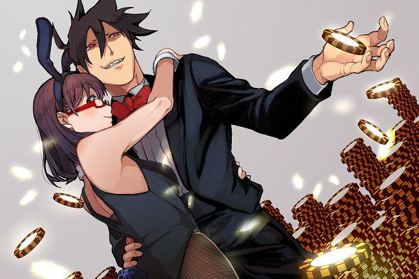 Tags: Anime, Pixiv Id 30358662, Yondemasuyo Azazel-san, Sakuma Rinko, Akutabe, Gambling Chips, Pixiv
