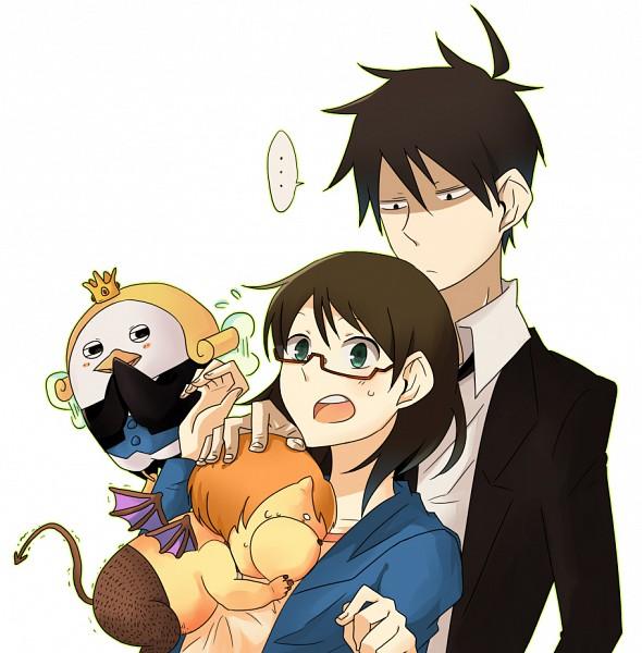 Tags: Anime, Yondemasuyo Azazel-san, Azazel, Sakuma Rinko, Akutabe