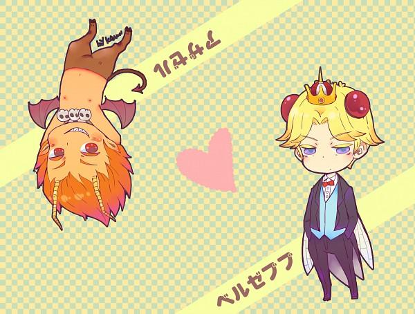Tags: Anime, Yondemasuyo Azazel-san, Beelzebub (Yondemasuyo Azazel-san), Azazel