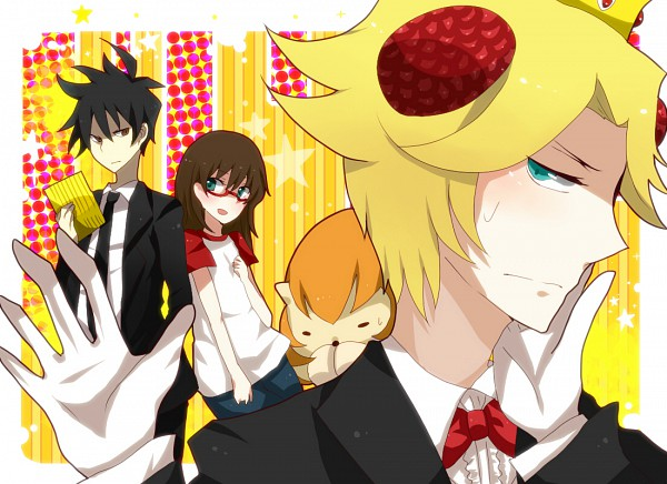 Tags: Anime, Yondemasuyo Azazel-san, Azazel, Beelzebub (Yondemasuyo Azazel-san), Sakuma Rinko, Akutabe