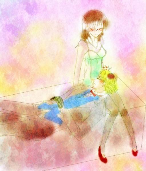 Tags: Anime, Pixiv Id 1673225, Yondemasuyo Azazel-san, Sakuma Rinko, Beelzebub (Yondemasuyo Azazel-san)