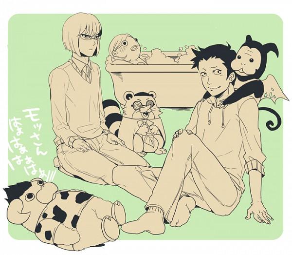Tags: Anime, Yondemasuyo Azazel-san, Undine (Yondemasuyo Azazel-san), Moloch, Gusion (Yondemasuyo Azazel-san), Kotaro Dochin
