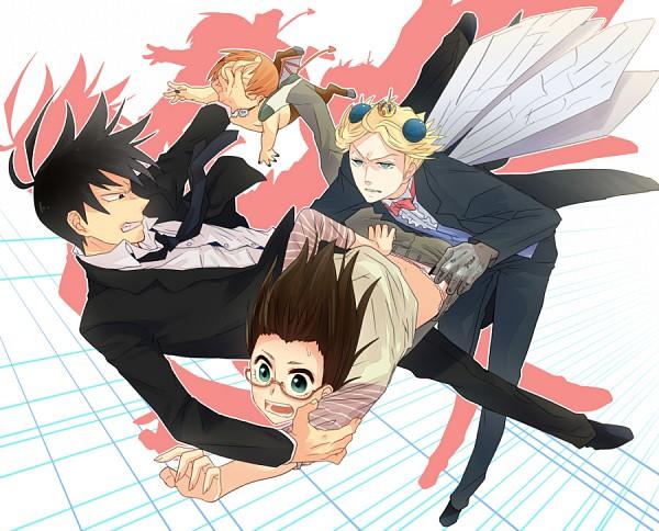 Tags: Anime, Irono Yoita, Yondemasuyo Azazel-san, Azazel, Sakuma Rinko, Akutabe, Pixiv, Fanart