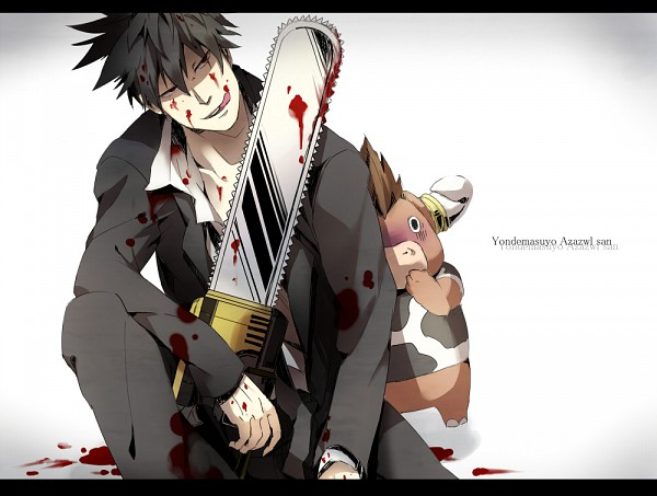 Tags: Anime, Pixiv Id 340422, Yondemasuyo Azazel-san, Moloch, Akutabe, Chainsaw