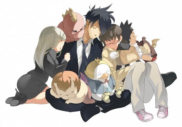 Tags: Anime, Pixiv Id 3070453, Yondemasuyo Azazel-san, Sakuma Rinko, Salamander (Yondemasuyo Azazel-san), Akutabe, Undine (Yondemasuyo Azazel-san), Moloch, Azazel, Beelzebub (Yondemasuyo Azazel-san), Gusion (Yondemasuyo Azazel-san), Douchin Koutarou