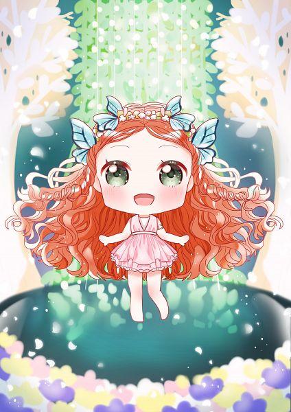 Tags: Anime, Twinkle (ssubin2018), Yooa, Bon Voyage (Oh My Girl), K-pop, Fanart, PNG Conversion, Oh My Girl