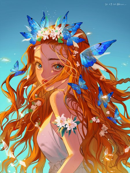 Tags: Anime, Pixiv Id 13980788, Yooa, Pixiv, Fanart, Fanart From Pixiv, Bon Voyage (Oh My Girl), K-pop, Oh My Girl