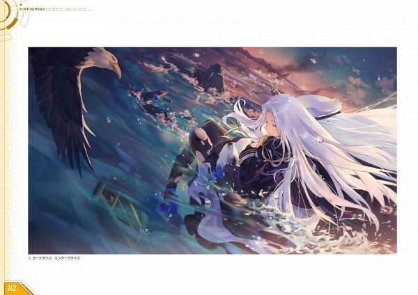 Tags: Anime, Criin, Yostar, Azur Lane - First Anniversary Art Collection, Azur Lane, Yorktown (Azur Lane), Official Art