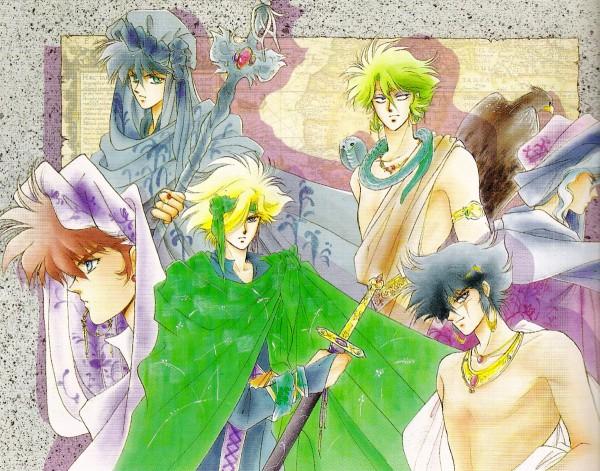 Tags: Anime, Kaimu Tachibana, Yoroiden Samurai Troopers, Nothing, Naaza, Date Seiji, Rajura, Sanada Ryou, Anubis (Ronin Warriors), Hashiba Touma