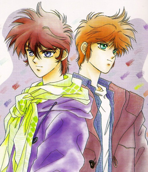 Tags: Anime, Kaimu Tachibana, Yoroiden Samurai Troopers, Nothing, Mouri Shin, Sanada Ryou