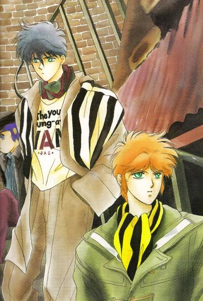 Tags: Anime, Kaimu Tachibana, Yoroiden Samurai Troopers, Nothing, Mouri Shin