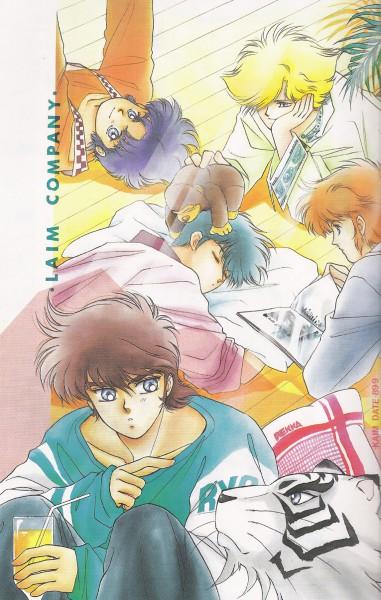 Tags: Anime, Yoroiden Samurai Troopers, Xiu Lei Huang, Hashiba Touma, Mouri Shin, Date Seiji, Sanada Ryou, White Tiger