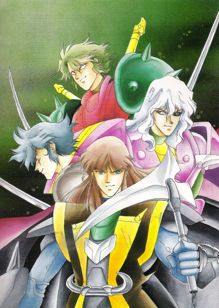 Tags: Anime, Kaimu Tachibana, Yoroiden Samurai Troopers, Nothing, Rajura, Shutendouji, Anubis (Ronin Warriors), Naaza
