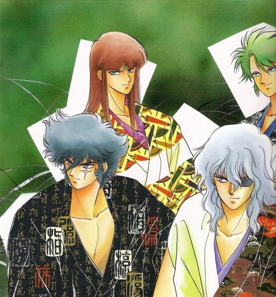 Tags: Anime, Kaimu Tachibana, Yoroiden Samurai Troopers, Nothing, Naaza, Rajura, Shutendouji, Anubis (Ronin Warriors)