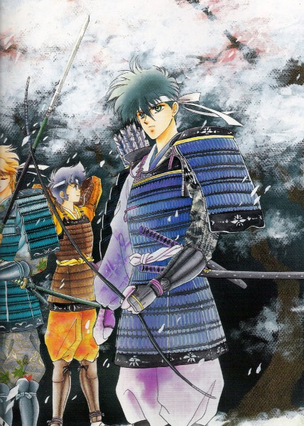 Tags: Anime, Kaimu Tachibana, Yoroiden Samurai Troopers, Nothing, Xiu Lei Huang, Hashiba Touma