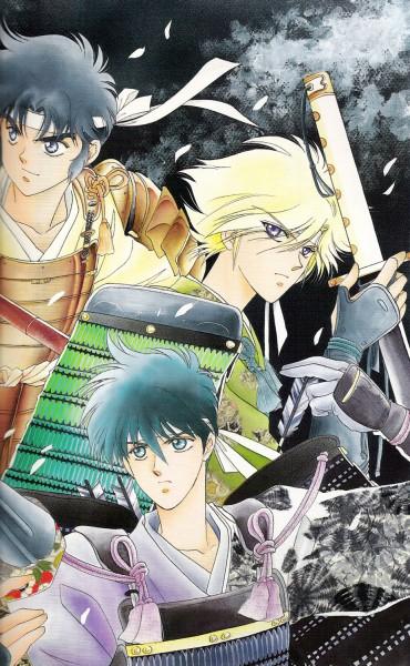 Tags: Anime, Kaimu Tachibana, Yoroiden Samurai Troopers, Nothing, Hashiba Touma, Date Seiji, Xiu Lei Huang