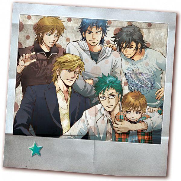 Tags: Anime, Ludlow, Yoroiden Samurai Troopers, Xiu Lei Huang, Hashiba Touma, Mouri Shin, Date Seiji, Sanada Ryou, Yamano Jun