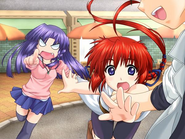 Tags: Anime, Yoru no Kakera, CG Art