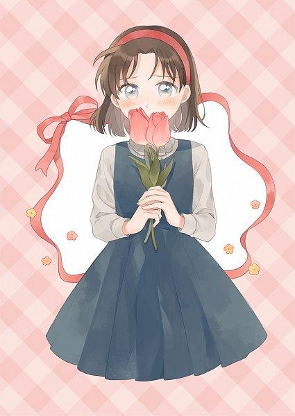 Tags: Anime, Zarutsu, Meitantei Conan, Yoshida Ayumi, Tulip, Pixiv, Fanart From Pixiv, Fanart, Amy Yeager