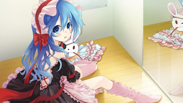 Tags: Anime, Tsunako, Compile Heart, Date A Live, Yoshino (Date A Live), CG Art, Wallpaper