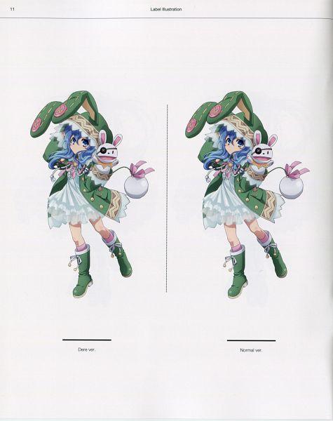 Tags: Anime, Ishino Satoshi, AIC PLUS+, Date A Live, Date A Live Visual Collection, Yoshino (Date A Live), Official Art, Scan