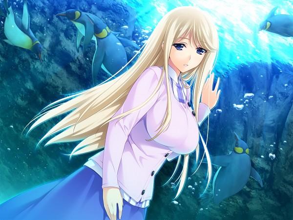 Tags: Anime, Iizuki Tasuku, Hibiki Works, Lovely x Cation 2, Yoshinoya Seine, Aquarium, Scan, CG Art, Official Art