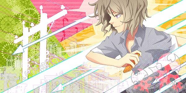 Tags: Anime, hakei, Subarashiki Kono Sekai, Yoshiya Kiryu, Facebook Cover