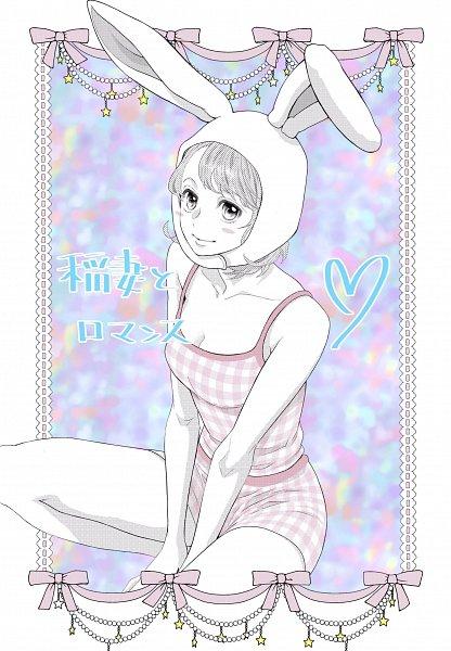 Tags: Anime, Mikimoto Rin, Inazuma to Romance, Yoshizawa Sumire (Inazuma to Romance), Official Art, Mobile Wallpaper, Twitter
