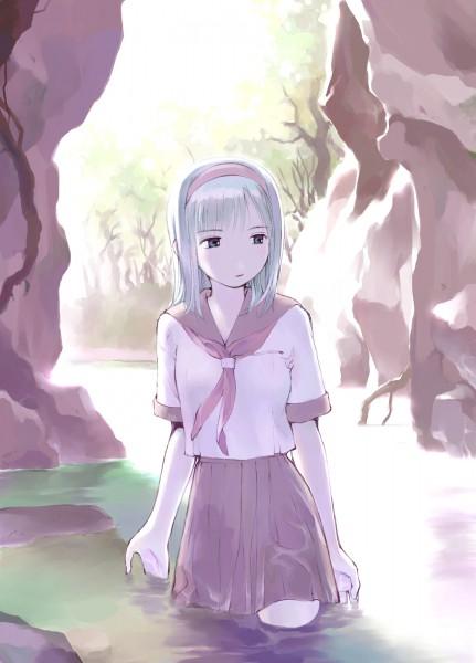 Tags: Anime, Yoshizuki Kumichi, Cave, Pixiv