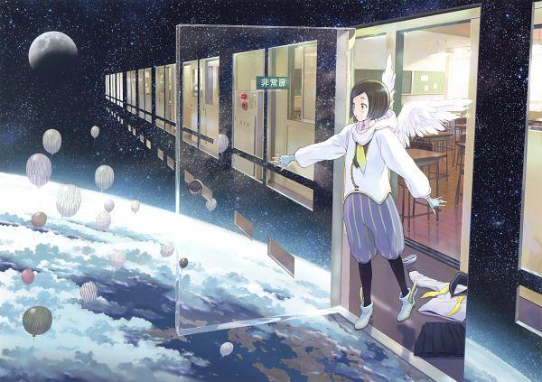 Tags: Anime, Yoshizuki Kumichi, Eshi 100-nin Ten 05, Original, Scan