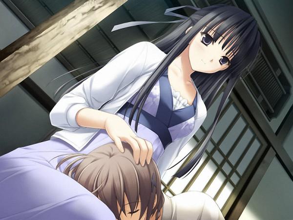 Tags: Anime, Yosuga no Sora, Migiwa Kazuha, Amatsume Akira, CG Art, Sky Of Connection
