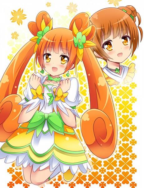 Tags: Anime, Shinekalta, Dokidoki! Precure, Yotsuba Alice, Cure Rosetta, Pixiv, Fanart, Fanart From Pixiv