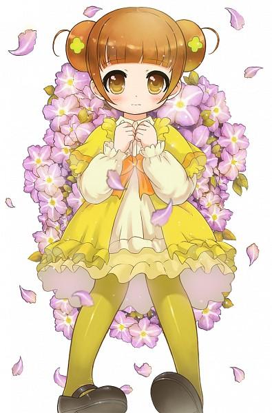 Tags: Anime, Pixiv Id 1732158, Dokidoki! Precure, Yotsuba Alice, Four-leaf Clover, Orange Bow, Fanart From Pixiv, Pixiv, Fanart