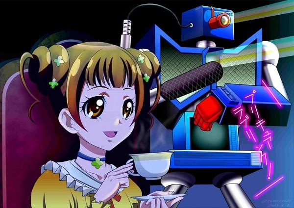 Tags: Anime, Tomoro 01, Dokidoki! Precure, Yotsuba Alice, Fanart From Pixiv, Pixiv, Fanart