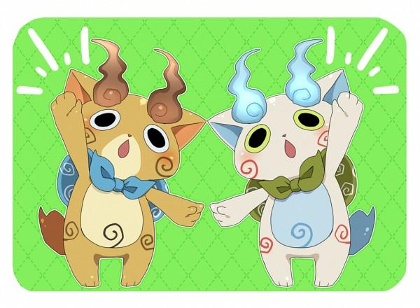 Tags: Anime, Pixiv Id 1700165, Youkai Watch, Komajirou, Komasan, Fanart From Pixiv, Pixiv, Fanart