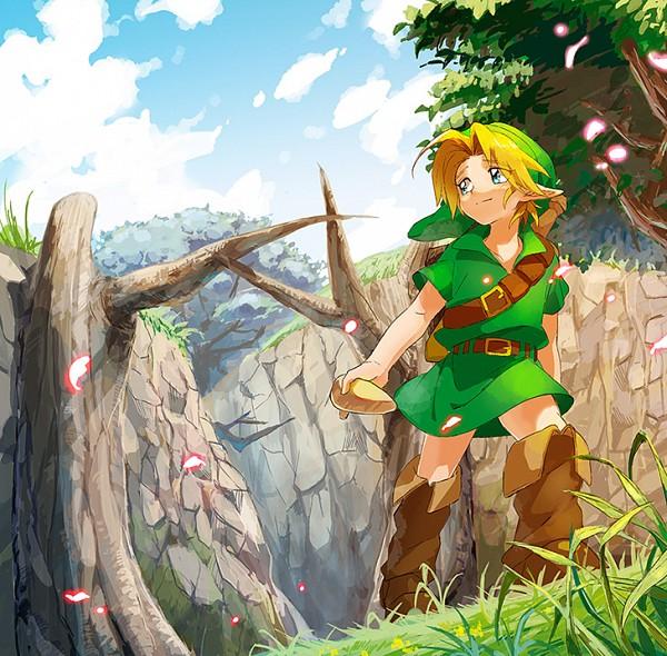 Tags: Anime, BeBeo, Zelda no Densetsu: Toki no Ocarina, Zelda no Densetsu, Young Link, Link, Link (Toki no Ocarina), Pixiv, Fanart From Pixiv, Fanart