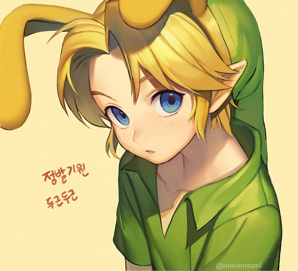 Tags: Anime, Pixiv Id 6867660, Zelda no Densetsu, Young Link, Link, Twitter, Fanart, PNG Conversion