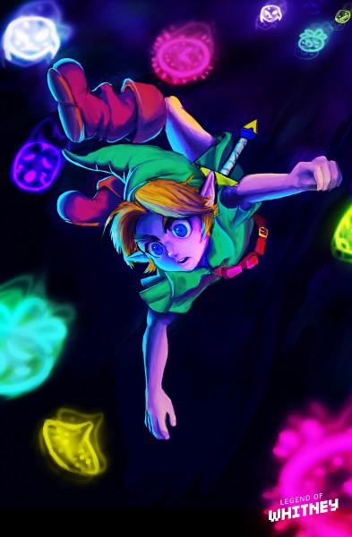 Tags: Anime, Legendofwhitney, Zelda no Densetsu: Mujura no Kamen, Zelda no Densetsu, Link, Young Link, Tunic, Mobile Wallpaper, deviantART, Fanart From DeviantART, Fanart