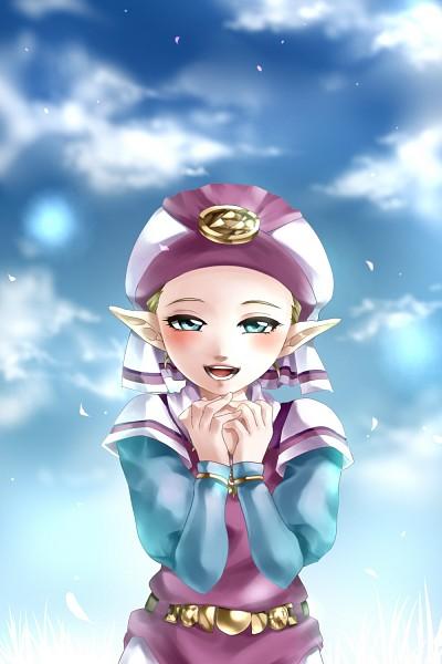Tags: Anime, Legemd, Zelda no Densetsu: Toki no Ocarina, Zelda no Densetsu, Princess Zelda, Young Zelda, Zelda (Toki no Ocarina), Pixiv, Fanart, Mobile Wallpaper, Fanart From Pixiv