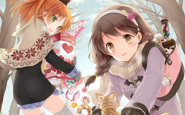 Tags: Anime, CUTEG, CUBE (Studio), Your Diary, Ayase Sayuki, Minagawa Yuuhi, Hirosaki Kanade, Wallpaper