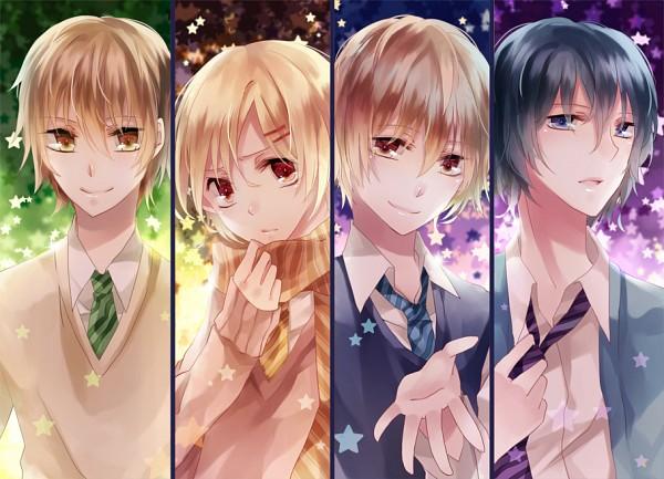 Tags: Anime, Nekona, VOCALOID, Kony, ShounenT, Soraru, Shamuon, Adjusting Tie, Gensou Airly, Your Highness☆My Princess, Nico Nico Singer, Pixiv