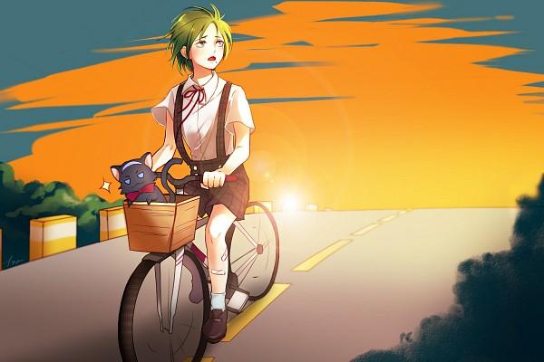 Tags: Anime, Yowamushi Pedal, Makishima Yuusuke, Fanart From Pixiv, Pixiv, Fanart, Weak Pedals